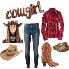 Cowboy Halloween Costumes Diy Cowgirl Costume Mano Metal Manoymetal Polyvore