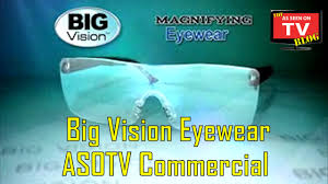 magnifying eyeglasses with light as seen on tv big vision eyewear as seen on tv commercial buy big vision eyewear