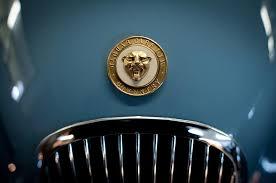 1952 jaguar ornament photograph by sebastian musial