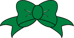 green bow clip at clker vector clip royalty