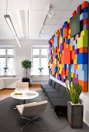 Colorful Interior Modelos De Decoração De Escritório Corporativo Sweden Office