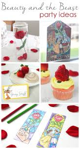 easy beauty and the beast party ideas cutesy crafts