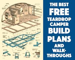 build blueprints best 25 teardrop trailer plans ideas on teardrop