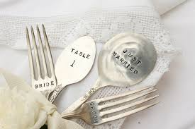 wedding silverware dress up your wedding decor with silverware bliss weddings boston
