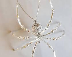 spider ornament etsy
