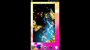 wallpaper with glitter effect fancy android butterfly live wallpaper with glitter sparkle effect