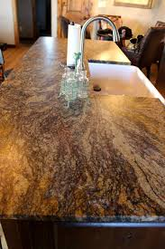 floor and decor granite countertops blue leathered granite with a chiseled edge kitchen island