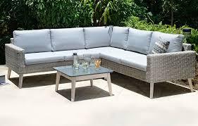 rattan corner sofa grey rattan corner sofa garden furniture out out