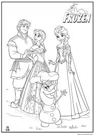 27 best frozen coloring pages images on pinterest drawings