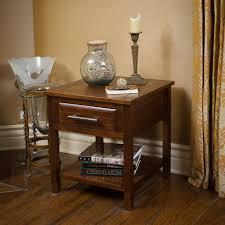 shop best selling home decor luna brown mahogany acacia square end