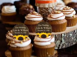 rustic wedding cupcakes country fall rustic wedding cupcake toppers decorations pavia