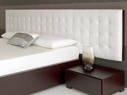 Bed With Headboard Baltazar Walnut Bed White Headboard Modern Headboards Diy Fabric
