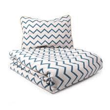 nobodinoz tour de lit parure de lit vancouver zig zag bleu nobodinoz design enfant