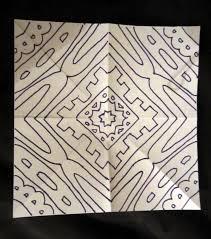 pattern art name mrs art teacher radial name tutorial