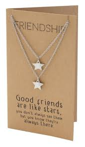 friend necklace images Macy best friend necklaces with matching star pendant friendship jpg
