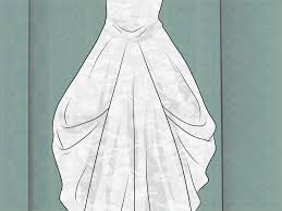 wedding dress bustle 3 ways to bustle a gown wikihow