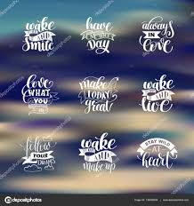 quotes about life download set of handwritten lettering positive quote about life u2014 stock