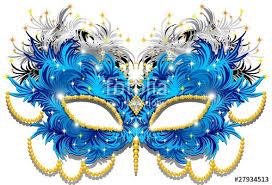 carnevale masks maschera carnevale di piume feathers carnival mask 3 vector stock