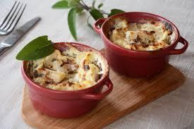 cuisiner des blettes fraiches gratin de blettes bettes et lardons au fil du thym