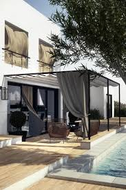 Pergola With Fabric by Sunbrella Xl