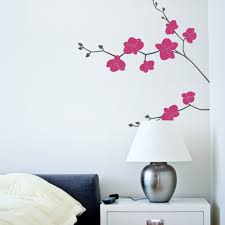 online get cheap orchid wall decal aliexpress com alibaba group