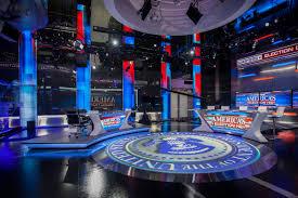 News Studio Desk by Fox News Studio F Set Design Gallery
