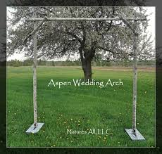 diy wedding arch aspen wedding arch aspen arbor complete kit for indoor or