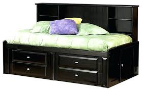 twin bed with bookcase headboard and storage bookcase twin platform bed with bookcase headboard coaster wrangle