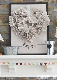 Valentine S Day Design Decor by Diy Neutral Valentine U0027s Day Mantel Decor Love Is All We Need