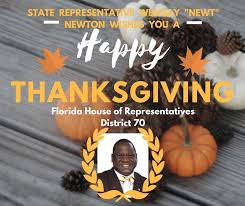 thanksgiving messages from florida s elected officials and