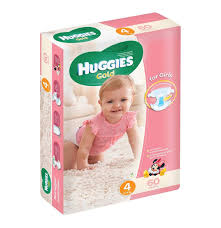 huggies gold huggies gold disposable nappies girl size 4 1 x 60 s lowest