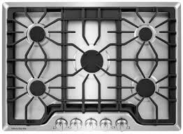 30 Gas Cooktop With Downdraft 30 Inch Gas Cooktop Stainless At Us Appliance