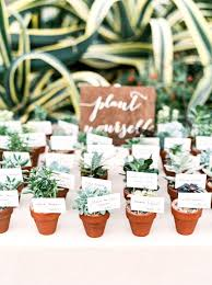 flower pot favors mini terra cotta pot cards and wedding favors brides