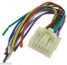 panasonic car audio and video wire harness ebay
