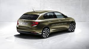 fiat hatchback 2016 fiat tipo hatchback render seems just about right