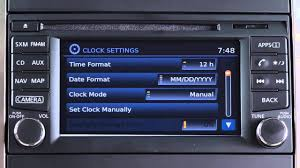2015 nissan nv200 setting the clock if so equipped youtube