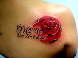 70 most attractive mom rose flower tattoos golfian com
