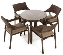 Bistro Patio Table Four Person Bistro Patio Table Sets
