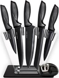 ebay kitchen knives kitchen knife 7pc set stainless steel chef cooking 5 different