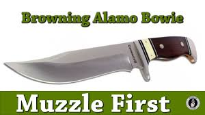 browning alamo bowie fixed blade knife a new take on the classic