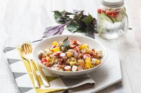 cuisine lentille salade de lentilles quinoa à la feta cuisine addict cuisine
