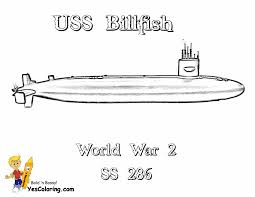 big boss coloring pages print submarine navy gekimoe u2022 54348
