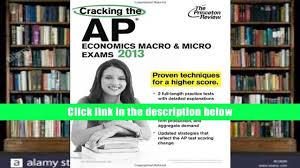 pdf cracking the ap economics macro micro exams 2013 edition