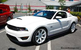 2010 Mustang Black Rims White Gt With What Color Wheels Mustang Evolution