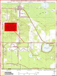 Upper Peninsula Map Derrick Henagan U0027s Home Page