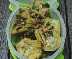cuisiner les artichauts violets artichauts violets aux échalotes et aux anchois recette de