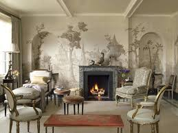 feature fireplace wallpaper ideas empty wall paint interesting