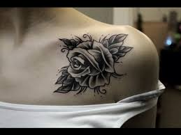 tattoos for girls 32 beautiful rose tattoos for women tattoos