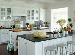 White Beadboard Kitchen Cabinets Beadboard Cabinets Cottage Kitchen Design