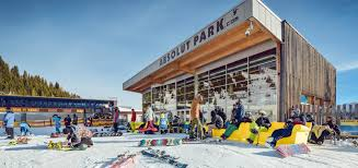 absolut park wagrain snowpark in the ski area